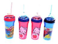 6331-57 .. k#z  KUBKI HELLO KITTY SPIDERMAN 4szt
