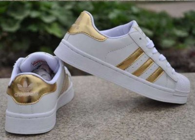 new style 3d3eb f8b69 Adidas superstar złote rozmiar 41
