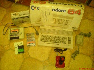 C64 + magnetofon + kasety + Joy + BB v3 BDB STAN!!