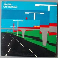 TRAFFIC On The Road 2 LP 1973 VG wawa