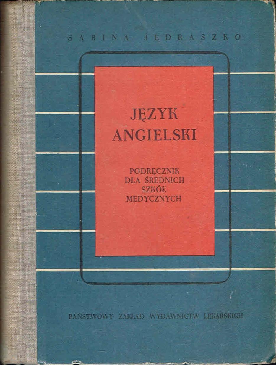 JĘDRASZKO Język angielski [szkoły medyczne] 1970