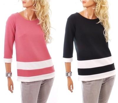 dc88c337b9380 Bawełniana Elegancka kobieca bluzka 1020#XL - 6753148335 - oficjalne ...