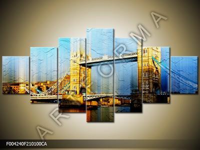 Gigant! Obraz strukturalny! 210x100 Canvas Art!