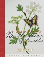 Stumpwork Embroidery, Moths and Butterflies