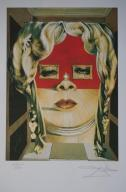 Salvador Dali Face of Mae West Litografia
