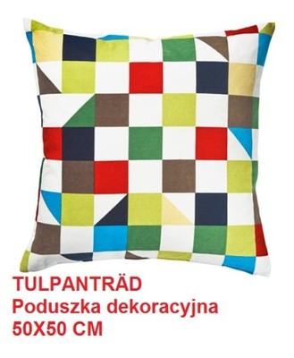 Ikea Tulpantrad Poduszka Dekoracyjna Pierze 50x50