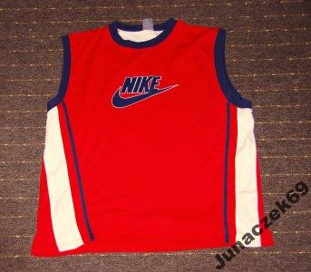 Bezrękawnik koszulka T-shirt Nike czerwony Ferrari