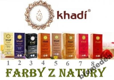 Henna Naturalna Farba Khadi Wszystkie Kolory 3287361831