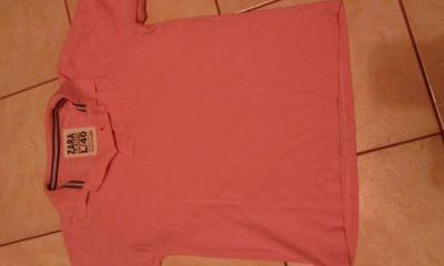 Różowa koszula męska roz L