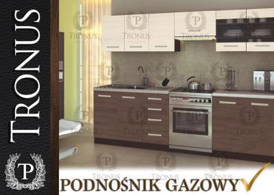 Zestaw Mebli Kuchennych Kuchnia Drewniane Półki 5464021877