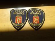 Naszywka Straż Miejska Warszawa