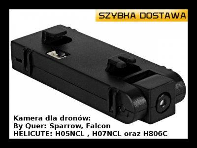 Kamera do dronów Sparrow, Falcon, HELICUTE DRON