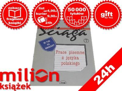 Super ściąga Prace Pisemne Z Języka Polskiego 2806315546