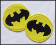 podkładka z FILCU ozdoba BATMAN na MIKOŁAJKI gift