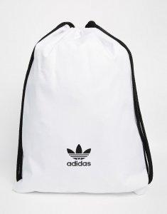 Plecak Worek Adidas Originals White Bialy Oldchool 6501622281 Oficjalne Archiwum Allegro