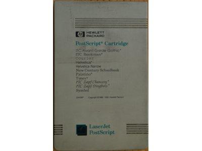 HP PostScript Cartridge. ITC Avant Garde Gothic,