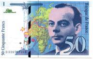 Francja 50 Francs 1997 P-157 Ad.1 aUNC