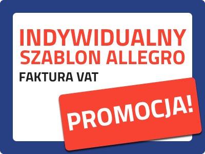 INDYWIDUALNY SZABLON ALLEGRO ANIMOWANY FAKTURA VAT