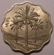 IRAK 5 fils 1971 PIĘKNE