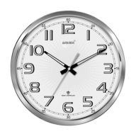 E378 Zegar ścienny Amms 35cm Cyfry Arabskie