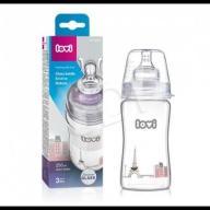 LOVI Butelka szklana LOVI 250 ml - Diamond Glass -