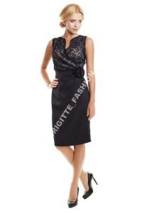 2ee85a65b4 Elegancka Suknia Sukienka Z Różą Wesele Rozmiar 48 - 3887993057 ...