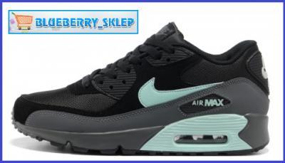 NIKE AIR MAX 90 CZARNO MIĘTOWE 537384 030 R.40 44