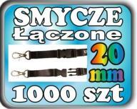 1000szt Smycze reklamowe z ŁĄCZNIKIEM 20mm PROJEKT