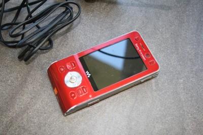 Sony Ericsson W910i Czerwony Krakow 6681709224 Oficjalne Archiwum Allegro