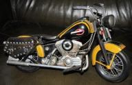 Model motocykla chopper