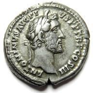 AC- ANTONINUS PIUS, denar, IMPERATOR II, genialny!