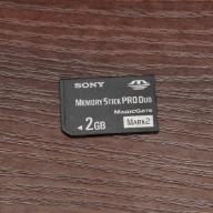 Sandisk memory stick PRO DUO MARK II 2GB