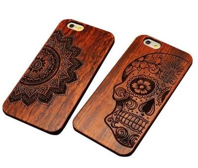 e4ec241cf678ca Etui drewniane iPhone 5s 6 6s case drewno obudowa - 5846183062 ...