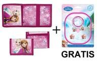 Portfel Frozen Kraina Lodu +gratis gumki do włosów
