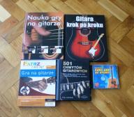 Zestaw książek do nauki gry na gitarze + gratis