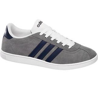 Deichmann buty męskie Adidas Court popielate 43,5