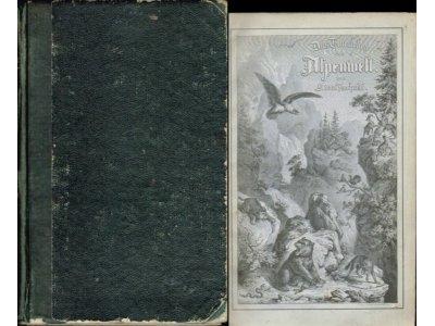 TSCHUDI Thierleben der Alpenwelt [ALPY FAUNA] 1854