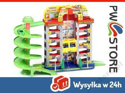 Duży Garaż 6 Poziomów 4 Auta Winda Tor Parking 498 6578256288