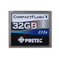 Pretec CF Compact Flash 32GB 233x 35MB/s WaWa FVAT