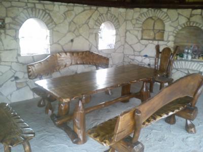Altana Altany Trzcina Stół Stoły Krzesła Ogród 6004761218