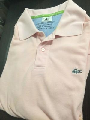 e2d7fdf69 różowa koszulka polo LACOSTE L/XL - 6854673859 - oficjalne archiwum ...