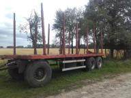 przyczepa do drewna,lasu stosu
