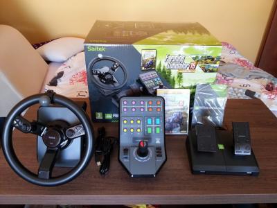 Kierownica Saitek Pro Farming Simulator 2015 Gold 5942744742 Oficjalne Archiwum Allegro