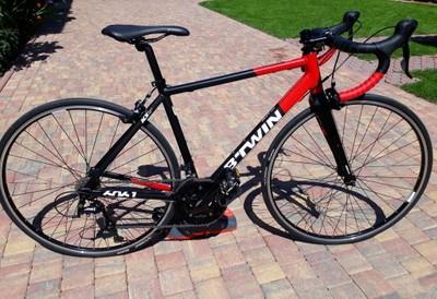 Rower szosowy BTWIN TRIBAN 520 rozmiar S, JAK NOWY - 6911114443