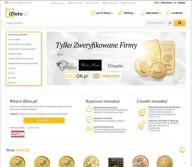 Platforma handlu złotem srebrem + zaplecze SEO SEM