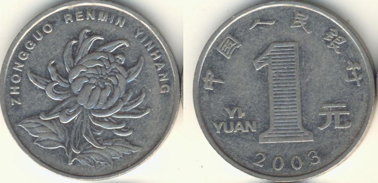 Chiny 1 juan 2003