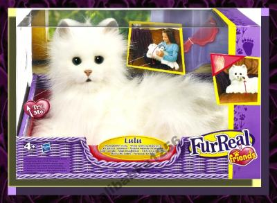 Interaktywny Biały Kot Lulu Hasbro Fur Real 4013343401