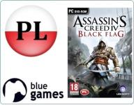 ASSASSINS CREED IV 4 BLACK FLAG PC BOX PŁYTA PL