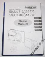 MANUAL INSTRUKCJA ENG OLUMPUS MJU 700
