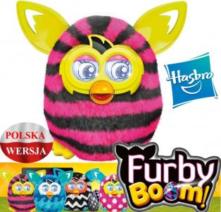Furby Boom Sweet Paski Hasbro A4337 Polski W24h 4610814842 Oficjalne Archiwum Allegro